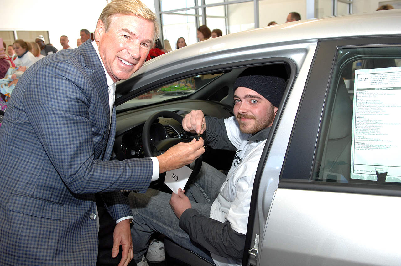 Paramount Kia Hickory >> Catawba County United Way's 2014 New Car Giveaway Winner